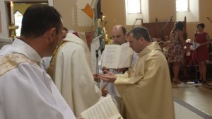Anointing with Chrism